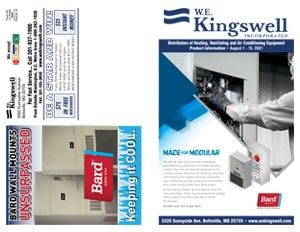 W.E. Kingswell August Flyer Front